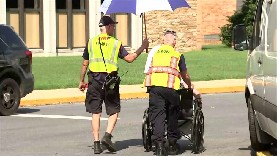 Voorhees senior medical facility evacuated after HVAC system stops working.