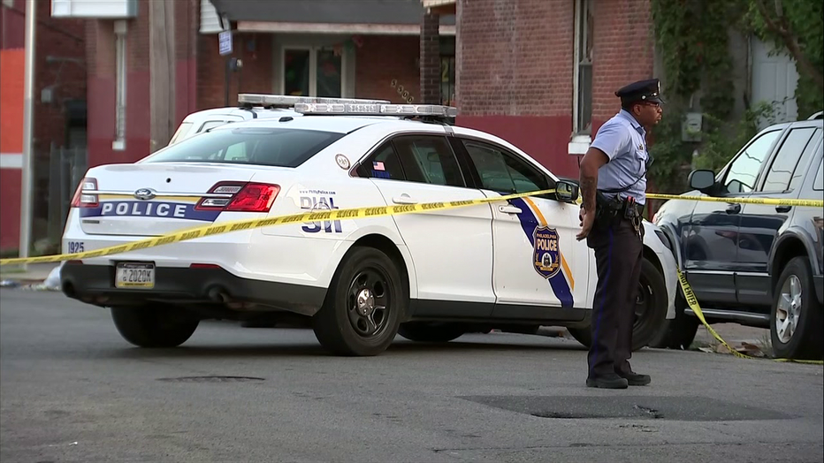 Double shooting on Winter Place in West Philadelphia.