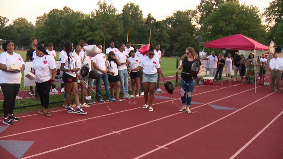 Vigil and tribute for Curtis Jenkins III.