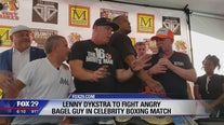 Lenny Dykstra to fight 'Bagel Guy' in celebrity boxing match