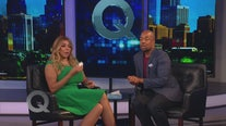 Wendy Williams shares an emotional moment with Quincy Harris on The Q