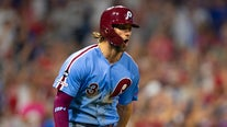 Harper's grand slam could be prelude to wild NL playoff race