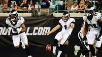Eagles lose another backup QB, beat Jags 24-10 in preseason