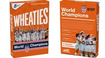 US women's soccer team scores their own special Wheaties box