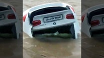 'Arrogant' son pushes BMW given to him into river because he wanted a Jaguar