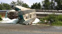 No injuries reported in Bethlehem train derailment
