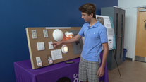 Local teen gets U.S. patent to help solve common household problem