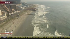 Bob Kelly gets birds eye view of Atlantic City from atop observation wheel