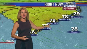 Fox 29 Weather Authority 7-day forecast 11 pm
