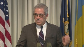 DA Larry Krasner speaks after police shootout, standoff