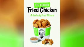 KFC testing Beyond Meat fried chicken at single location