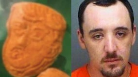Police: Florida man busted with Trump-shaped ecstasy pills
