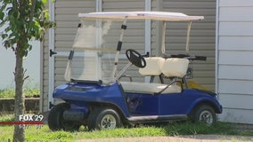 Pennsville police warning people to stay off the streets with their golf carts