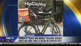 Owner of 'Black and Mobile' says his bike was stolen in Center City