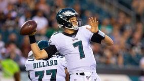 Eagles lose backup quarterback Nate Sudfeld to injury