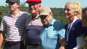Former avid golfer and hospice patient has wish fulfilled at Coatesville Country Club