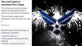Facebook locks man's account, says Air Force photo violated guidelines