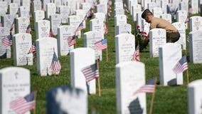 2 men must hand write names of over 6K Americans killed in war for lying about being in military