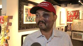 Man says he was beaten in NYC for wearing MAGA hat