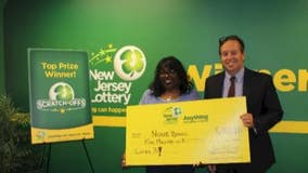 NJ woman attributes prayer to winning 5M on fourth lottery ticket
