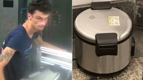 Man apprehended after 3 rice cookers found in Manhattan