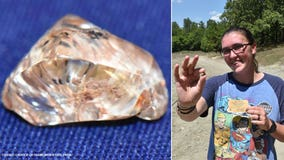Woman finds 3.72-carat yellow diamond at state park in Arkansas
