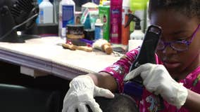 Philadelphia 8-year-old pursues passion for cutting hair