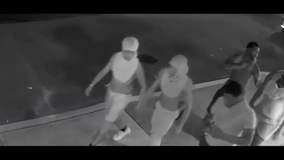 Police search for group accused of assaulting three men in Spring Garden