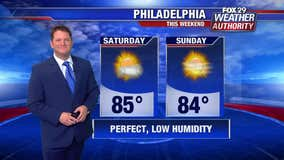 Weather Authority: Perfect summer weekend slated for region