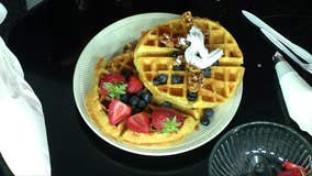 Celebrate National Waffle Day with this tasty waffle recipe