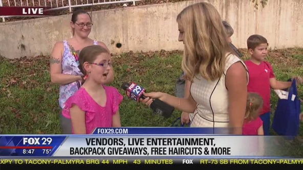 Philadelphia School District hosts Back 2 School event
