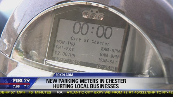 New parking meters in Chester impacting local businesses