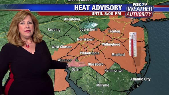 Weather Authority: Heat Advisory Wednesday; PM thunderstorms