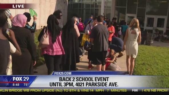 Philadelphia School District hosts 'Back 2 School' event