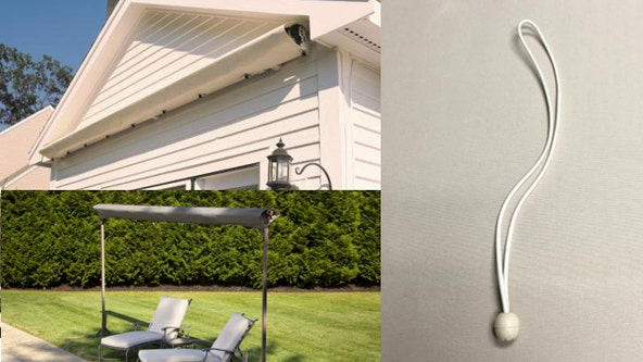 Reported death prompts recall of SunSetter motorized awning covers