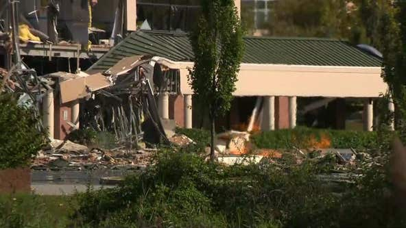 Maryland gas explosion rips through building, felt over a mile away, residents say