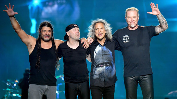 Metallica donates more than $277K to pediatric cancer hospital