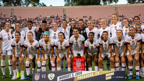 USWNT breaks attendance record for match against Portugal at Lincoln Financial Field
