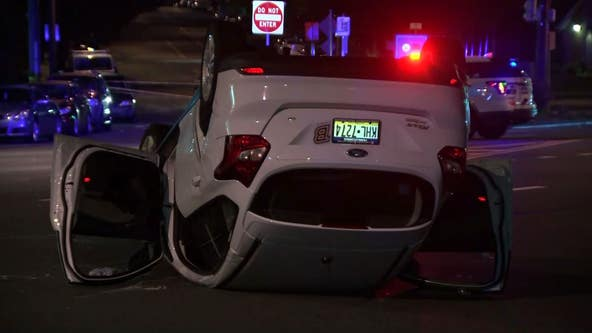 3 hospitalized after serious crash in Torresdale