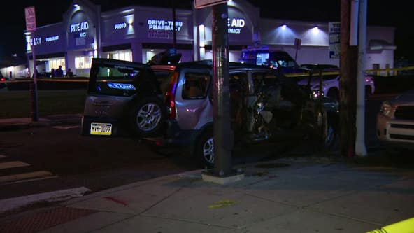 Motorcyclist killed, mother and 4 kids injured in Port Richmond crash