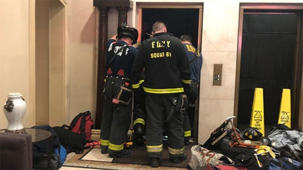 Man crushed by elevator in Manhattan