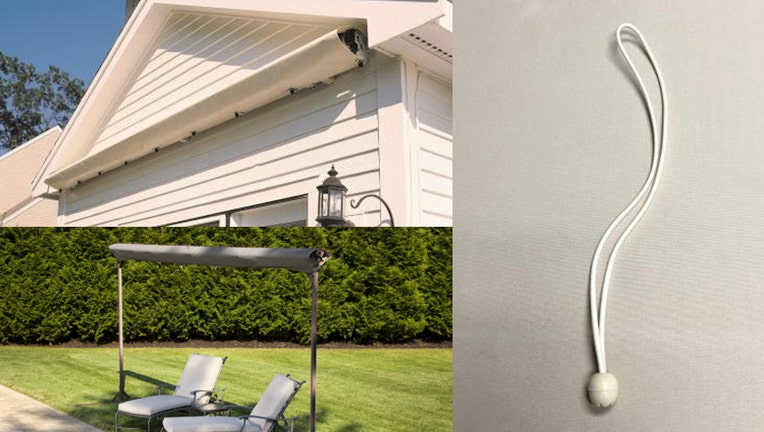 SunSetter awning covers recall