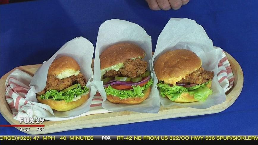 Local restaurants show off their chicken sandwiches