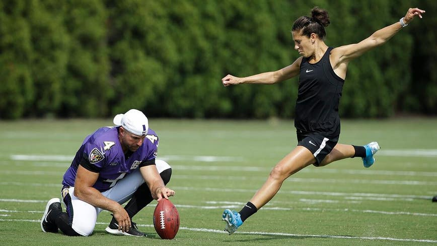 Carli Lloyd could commit to becoming NFL kicker after 2020 Olympics