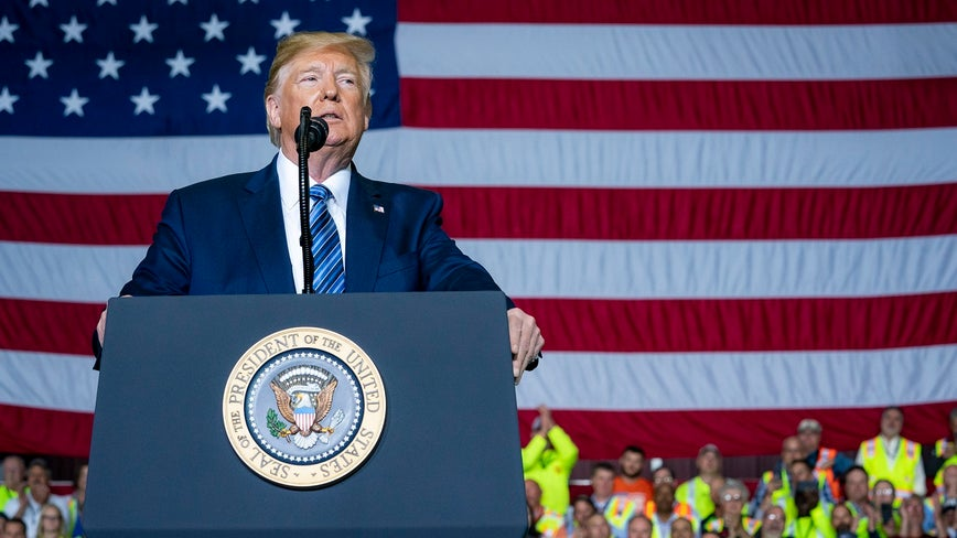 Trump revives suggestion of ending birthright citizenship