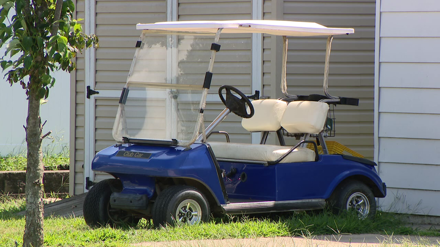 Pennsville police warning people to stay off the streets with golf carts
