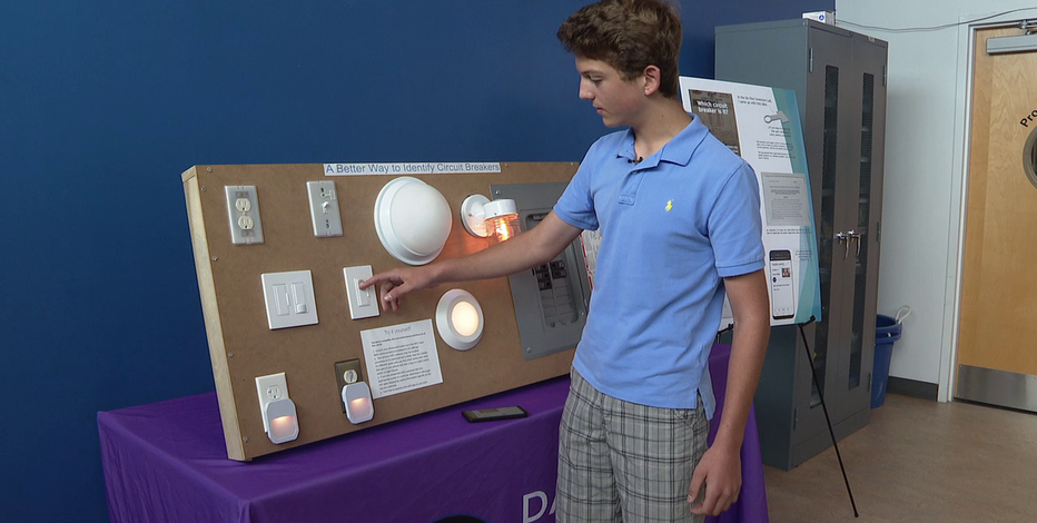 Local teen gets U S  patent to help solve common household problem