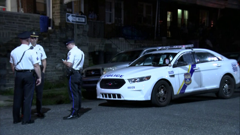 Police say a three-year-old sustained cuts from a machete in Olney