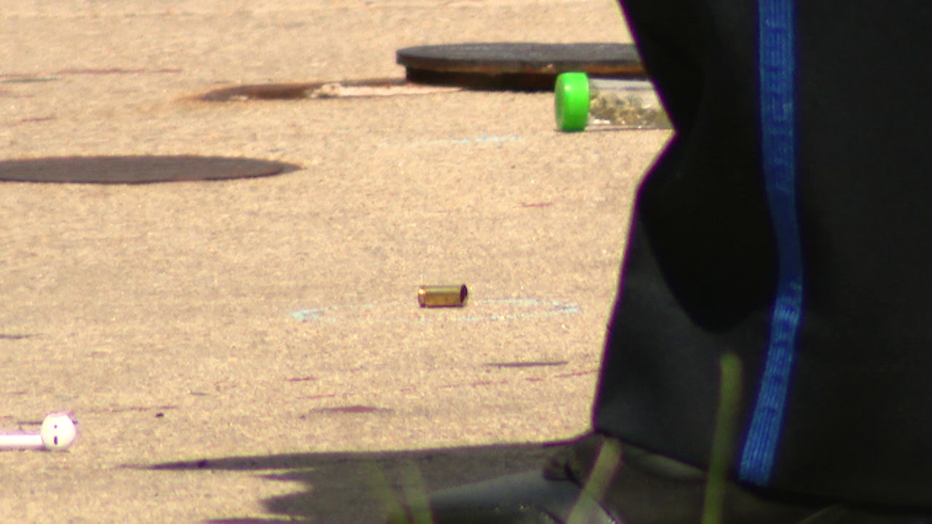 Shell casing from North Gratz Street shooting