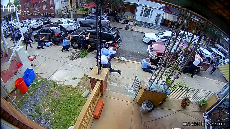 North Philadelphia police shooting